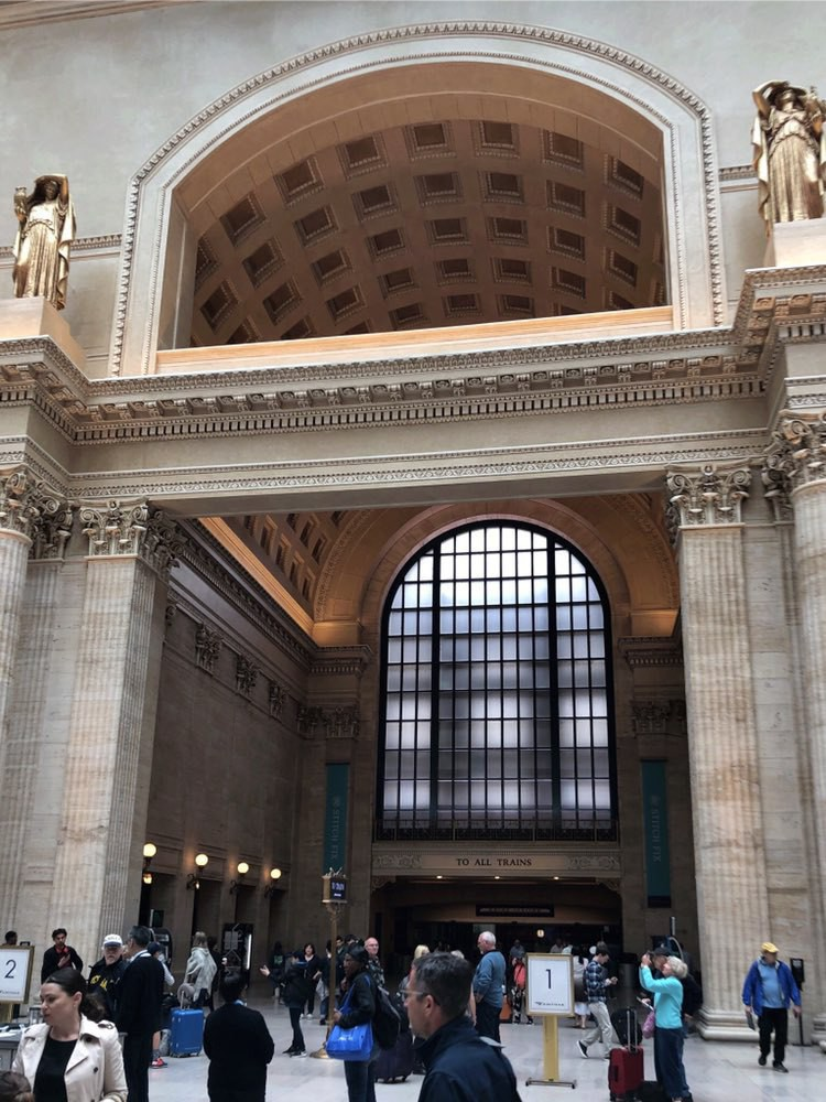 Grand arch in Chicago Union Station