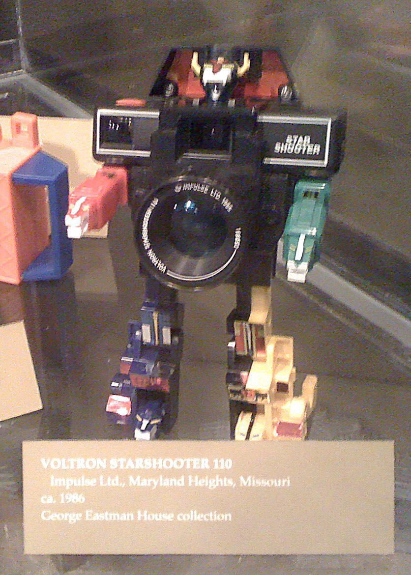 Voltron Starshooter 110. A camera shaped like the Lion Voltron.