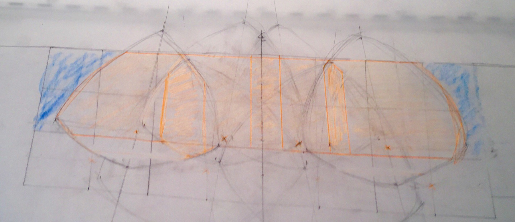 Lighting Plan Worksheet on Tracing Paper